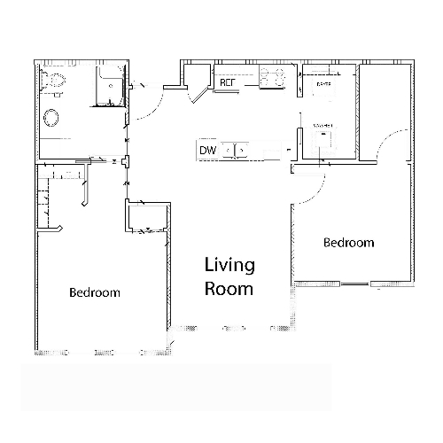 Evermore - 2 Bedroom, 1 Bathroom (3)