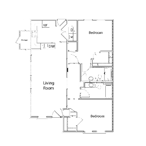 Evermore - 2 Bedroom, 2 Bathroom (1)