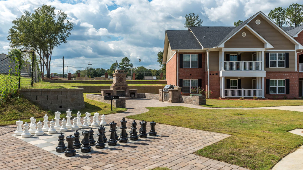 Potemkin Senior Village I & II, a Fairway Management senior community located in Warner Robins, Georgia, recently added new amenities upon completing the construction of the community's second phase.