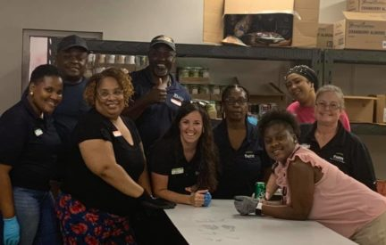 The Fairway Management Southeastern Regional Team Recently Completed One Of Their Service Projects At Overcomers House, A Food Bank Located In Snellville, Georgia